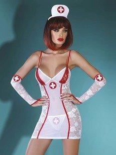 Charleen kostium pielęgniarki - kostium dla miłośników służby zdrowia