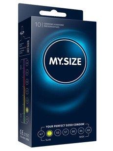 """MY.SIZE """"49""""  - dobrane do obwodu 10,0 - 11,0 cm (10 szt.)"""