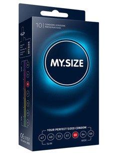 """MY.SIZE """"60""""  - dobrane do obwodu 12,0 - 13,0 cm (10 szt.)"""