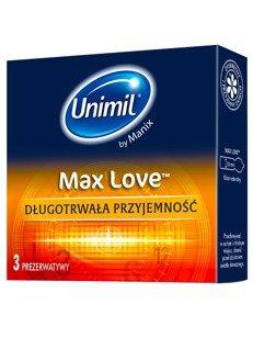 Max Love - długotrwała przyjemność (3 szt.)