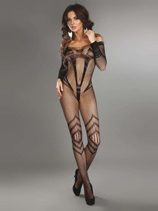 Siriana - bodystocking z imitacją micro-body