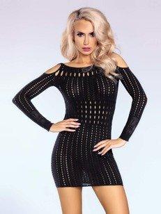 Sukienka Kamryn – czarna – niezbędnik miłośniczki imprez