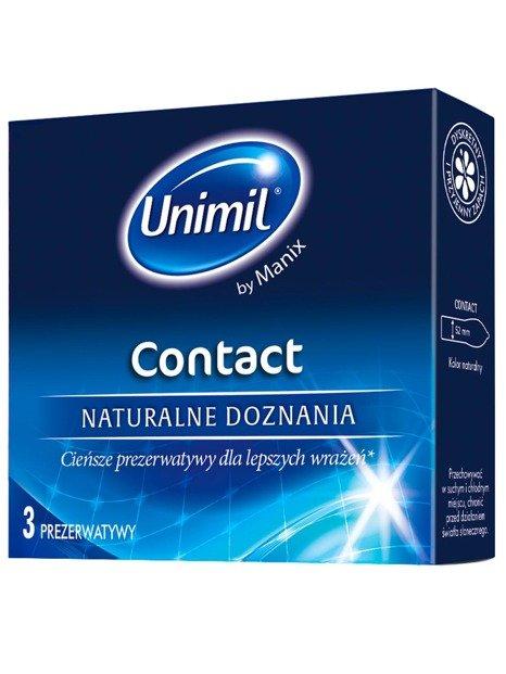 Contact - naturalne doznania, 100% komfortu (3 szt.) - UN03COPL