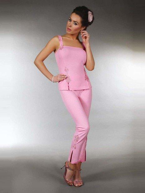 Kame - piżama w egzotycznym stylu - LC500002