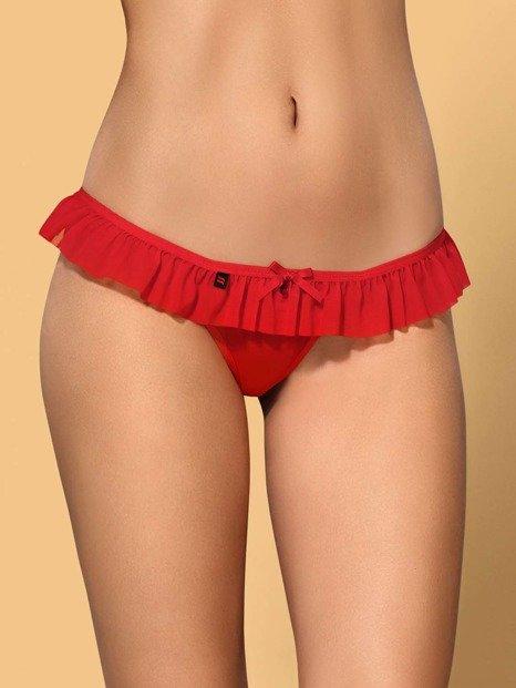 827-THO-3 stringi czerwone - mini format maxi przyjemność Obsessive