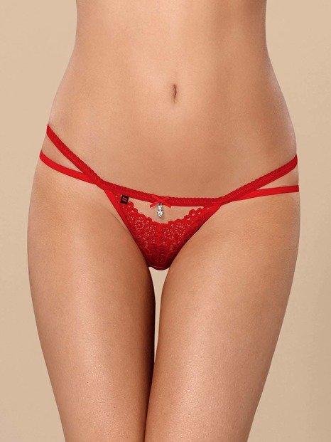 838-THO-3 stringi czerwone – ostre jak papryczka chili Obsessive